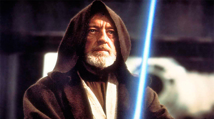 Alec Guiness como Obi-Wan Kenobi