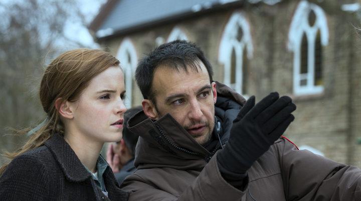 Alejandro Amenábar y Emma Waston