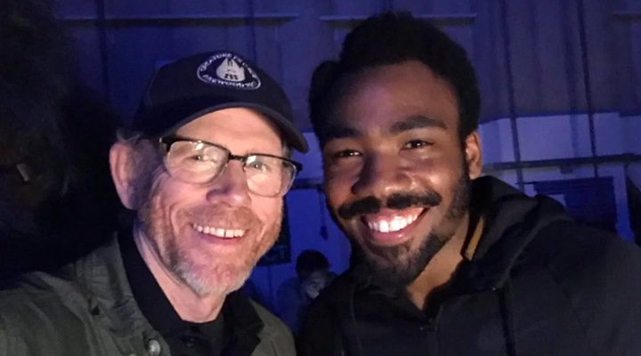 Donald Glover Y Ron Howard
