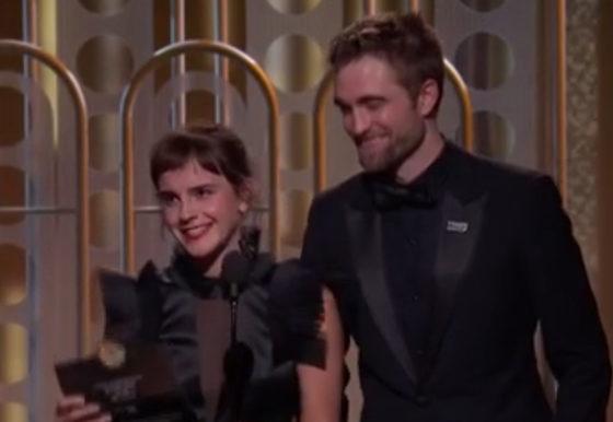 Emma Watson y Robert Pattinson