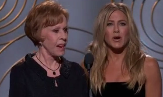 Carol Burnette y Jennifer Aniston