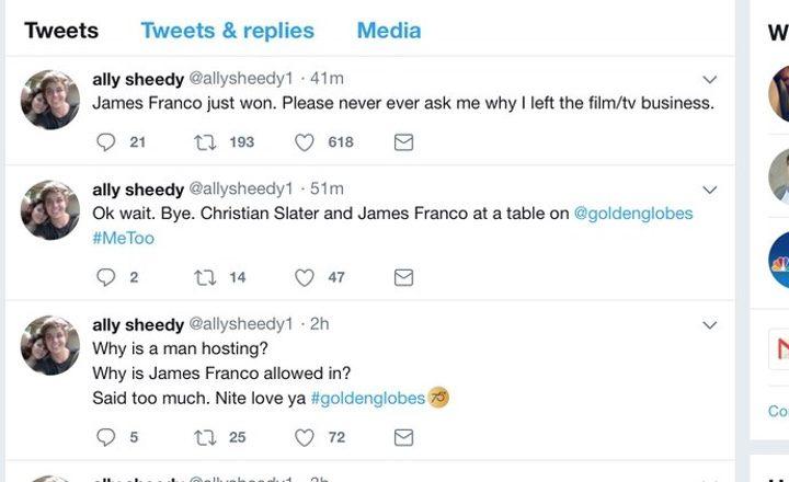 Tweets de Ally Sheedy