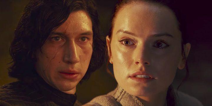 Adam Driver y Daisy Ridley en 'Star Wars: El despertar de la Fuerza'