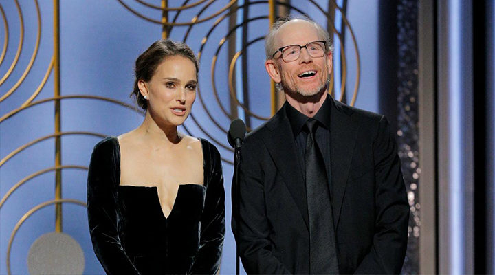 Natalie Portman y Ron Howard