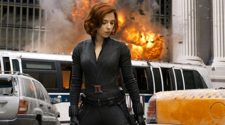 Scarlett Johansson como Viuda Negra en el Universo Cinematográfico Marvel