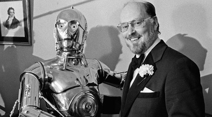 John Williams y C-3PO
