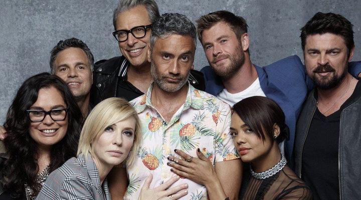 Director y reparto de 'Thor Ragnarok'