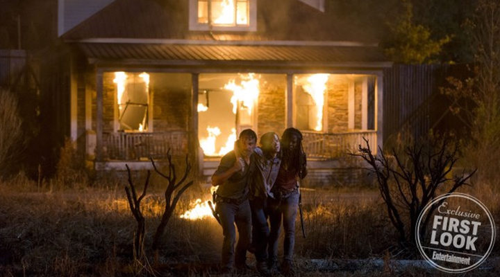 Rescate de Carl en 'The Walking Dead'