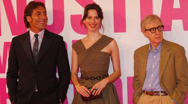 Rebecca Hall, Woody Allen y Javier Bardem
