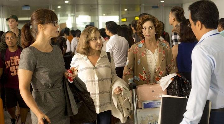 Adriana Ozores, Aitana Sánchez Gijón y Carmen Machi en 'Thi Mai'