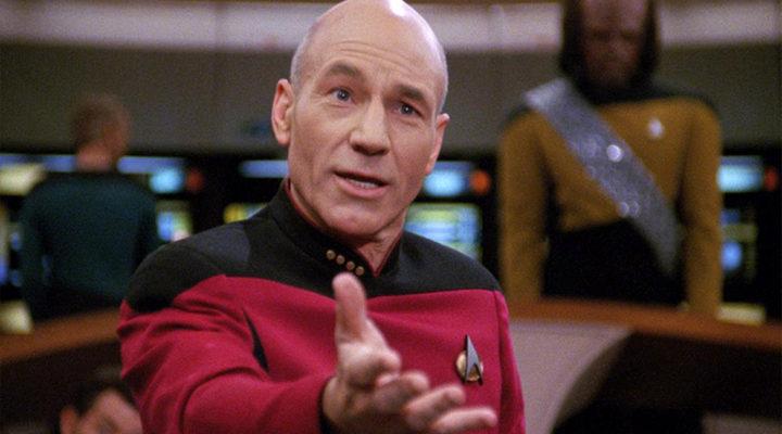 Patrick Stewart en 'Star Trek'