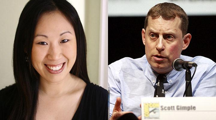 Scott Gimple y Angela Kang