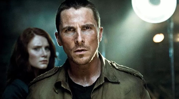 Christian Bale en 'Terminator Salvation'