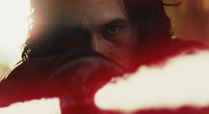Adam Driver en 'Star Wars: Los últimos Jedi'