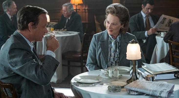 Tom Hanks y Meryl Streep en 'Los archivos del Pentágono'