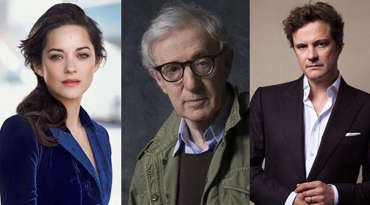 'Colin Firth y Marion Cotillard hablan sobre Woody Allen'