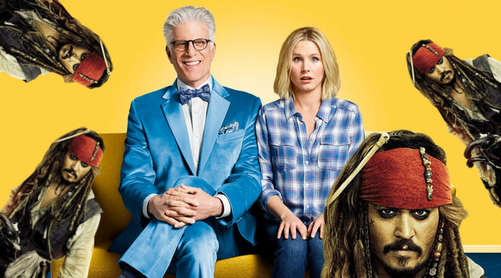 'The Good Place' y 'Piratas del Caribe'