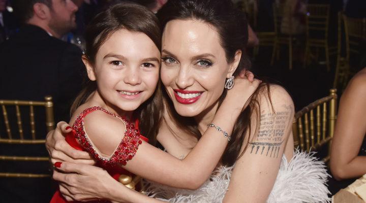 Angelina Jolie y Brooklynn Prince