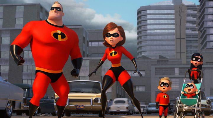 ''Los increíbles 2' presenta a sus nuevos personajes'