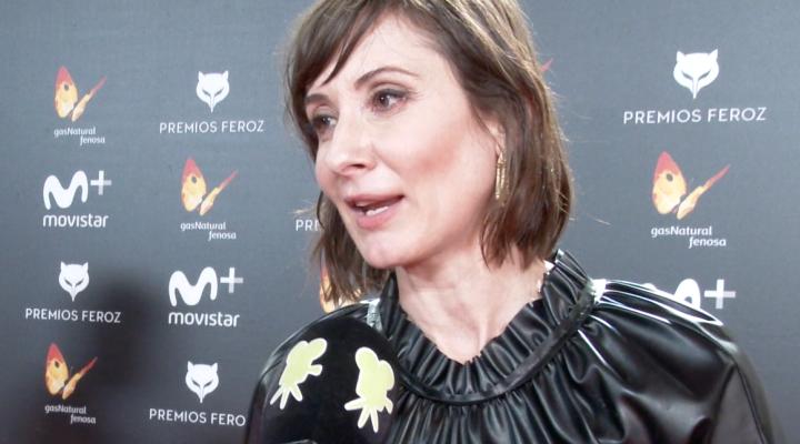 Nathalie Poza, Mejor actriz en los Feroz 2018 por 'No sé decir adiós'