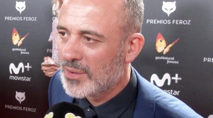 Javier Gutiérrez, ganador de dos estatuillas en los Premios Feroz 2018