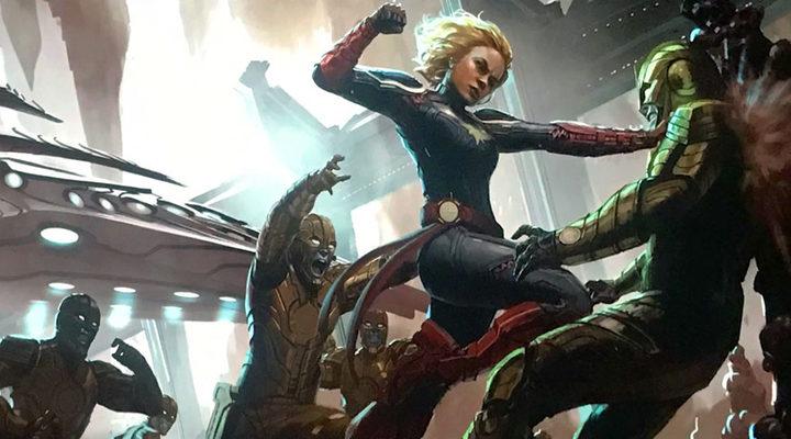 Concep-art Captain Marvel