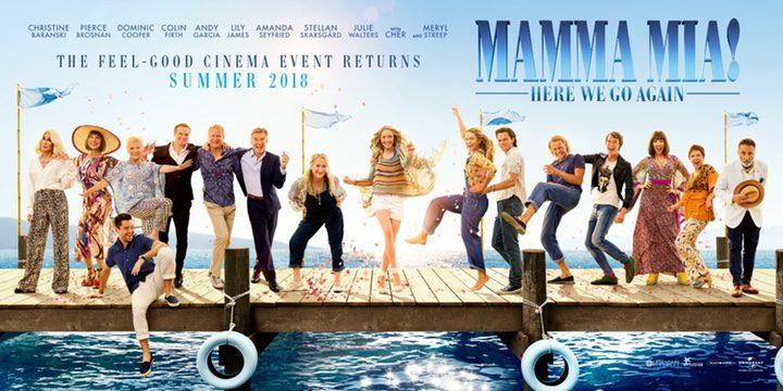 'Nuevo póster de 'Mamma Mia! Una y otra vez'