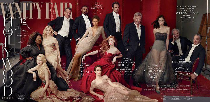 'Portada Hollywood Issue de Vanity Fair'