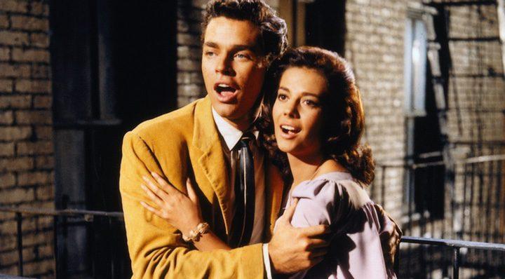 Richard Beymer y Natalie Wood en 'West Side Story'
