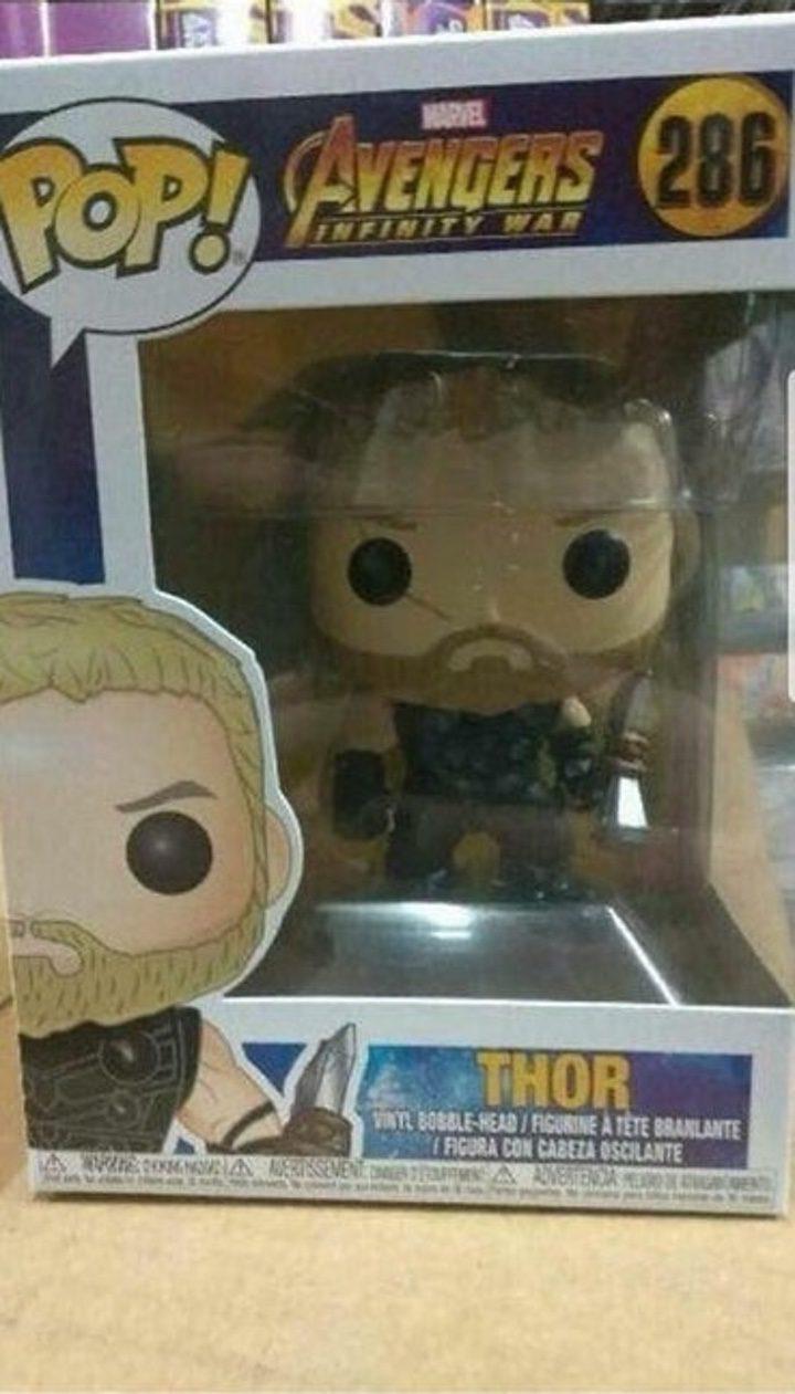 Imagen filtrada del Funko Pop de Thor