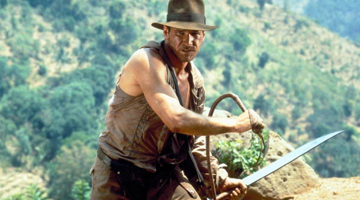 Harrison Ford como 'Indiana Jones'
