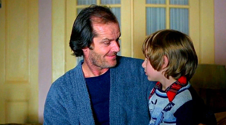 Jack y Danny Torrance en 'El resplandor'