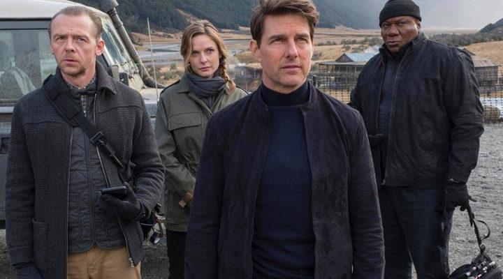 Tom Cruise y el resto del reparto de 'Misión Imposible: Fallout'