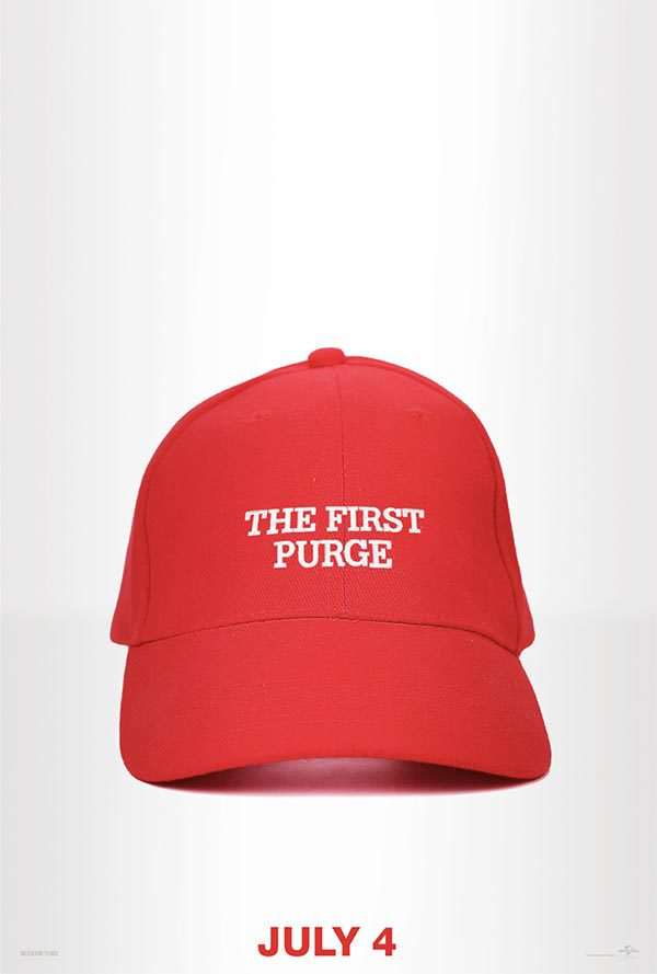 Poster oficial de 'The First Purge'