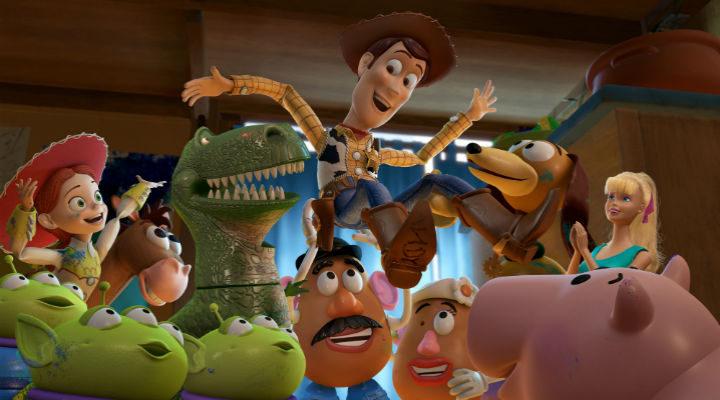 Los juguetes de 'Toy Story'