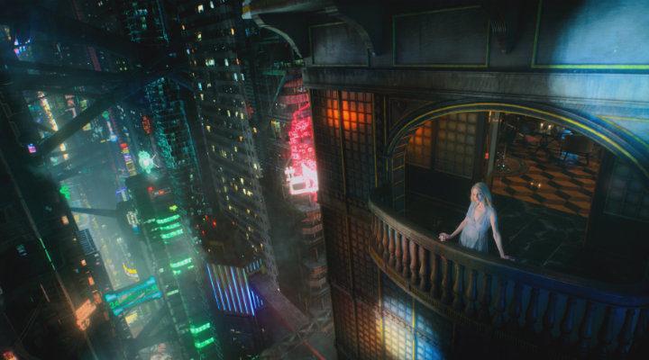 'La propuesta estética de 'Altered Carbon' bebe mucho de 'Blade Runner''