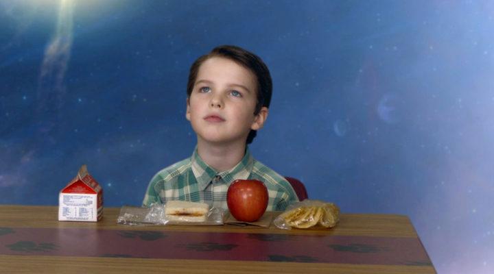 Iain Armitage en 'El joven Sheldon'