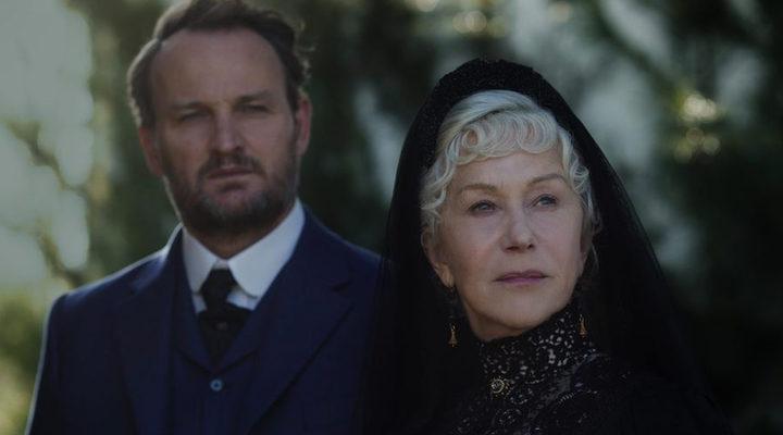 Helen Mirren y Jason Clarke en 'Winchester'