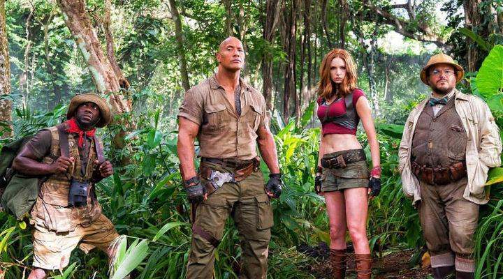 Personajes protagonistas de 'Jumanji: Bienvenidos a la jungla'