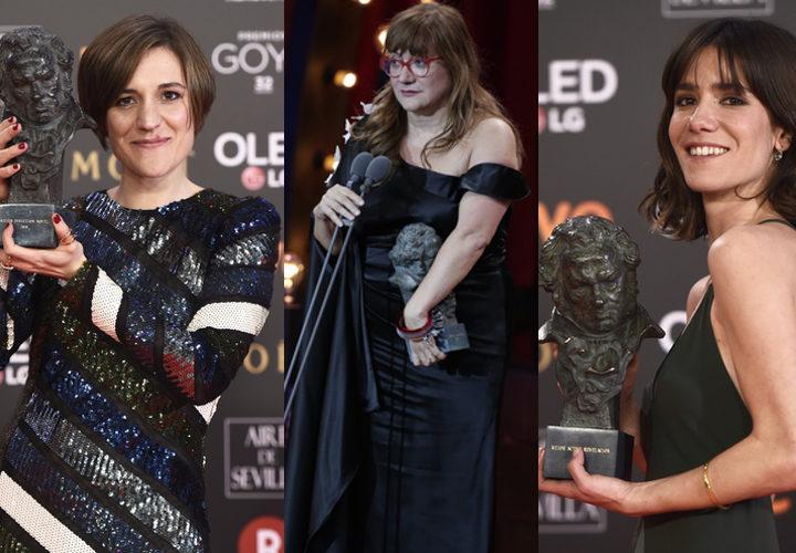 Tres de kas ganadoras en los Premios Goya 2018