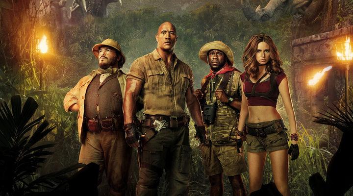 Imagen promocional de 'Jumanji: Bienvenidos a la jungla'