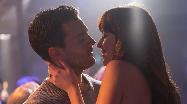 Christian y Anastasia en 'Cincuenta sombras liberadas'