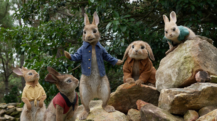 Fotograma de 'Peter Rabbit'