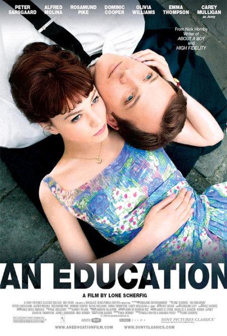 Primer cartel de 'An education'