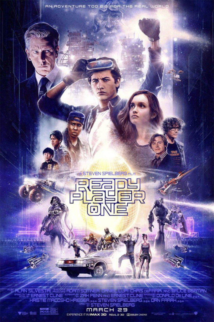 Póster 'Ready Player One'