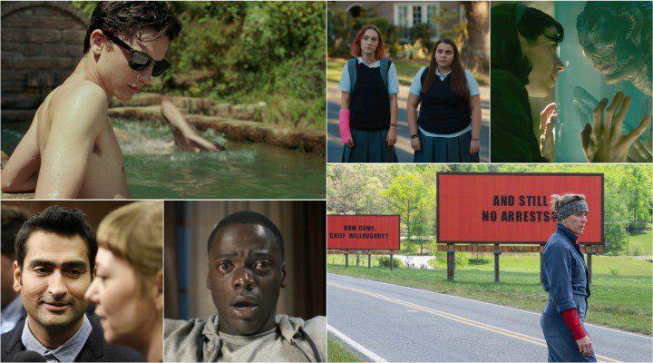 Nominadas a Mejor guión original y adaptado en los Oscar 2018