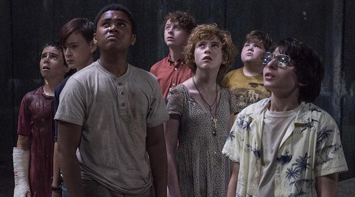 El joven reparto en 'It'