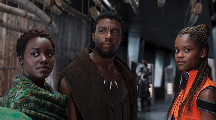 T'Challa, Shuri y Nakia en 'Black Panther'