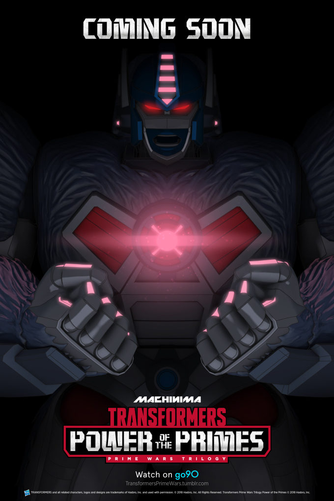 'Transformers: Power of the Primes'