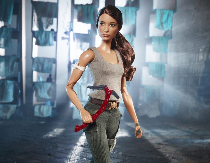 Barbie 'Tomb Raider'